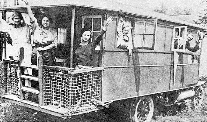 Vehículo vivienda de 1909