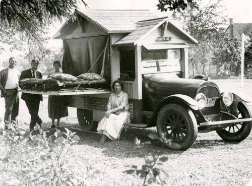 Vehículo vivienda de 1925